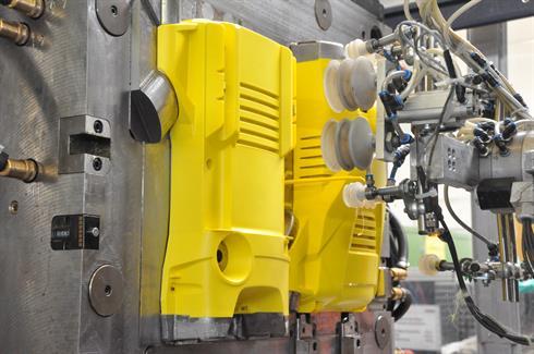 Carcaça da lavadora de pressão K2 em produção Crédito: Gogoll